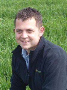 James Grantham, Agrii Agronomist growsLimagrain's  wild bird seed mixture Jack Russell as a multi purpose cover crop