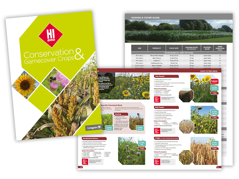 LIMAGRAIN 2021 HIBIRD CONSERVATION AND GAMECOVER CROP GUIDE